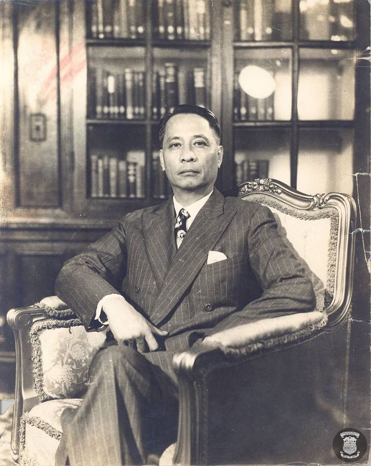Manuel Roxas, the fifth President of the #Philippines