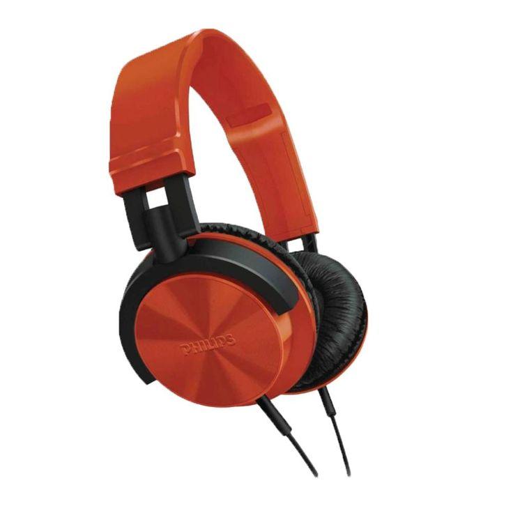 Audífonos de Diadema Philips anaranjados - $ 240.00 en Walmart.com.mx