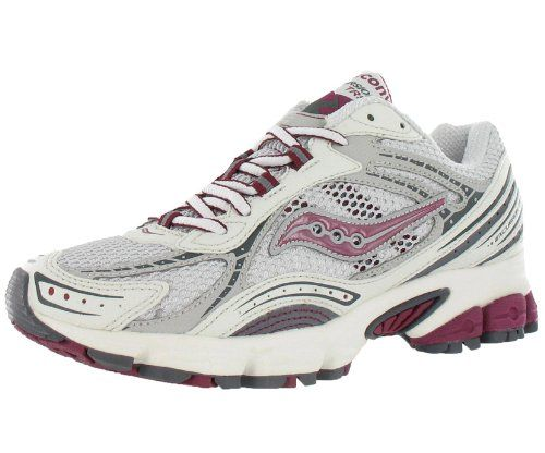 Saucony Women's Grid Excursion TR5 Trail Shoe,Tan/Purple,9 M US. Classic Saucony fit. Rugged synthetic materials and an aggressive traction. 9 B(M) US. Weight: 200, width: 400, height: 700 hundredths-inches.