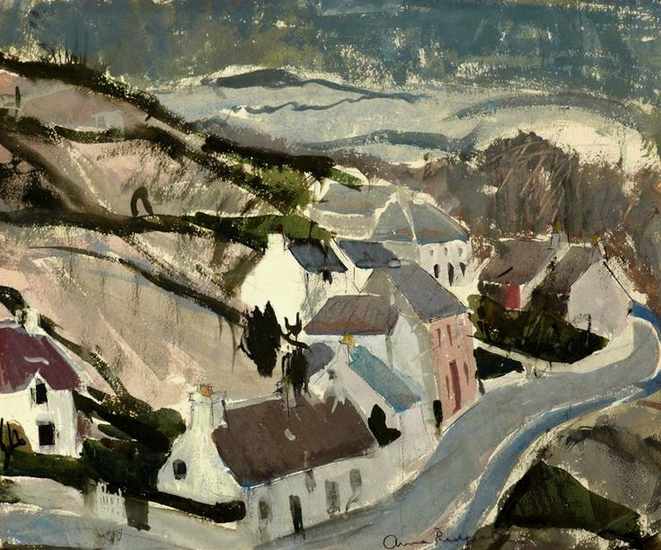 Cottages, Skye Anne Redpath