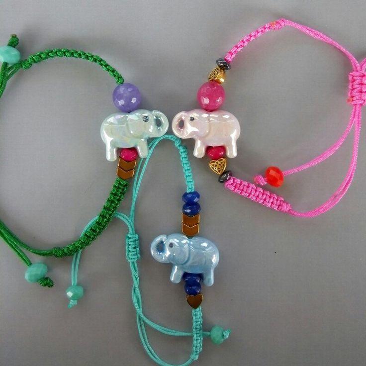 An elephant never forgets, elephant bracelet, bracelet, lovely jewels
