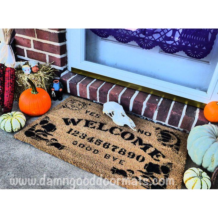 Ouija style board doormat Mystical spooky by ...