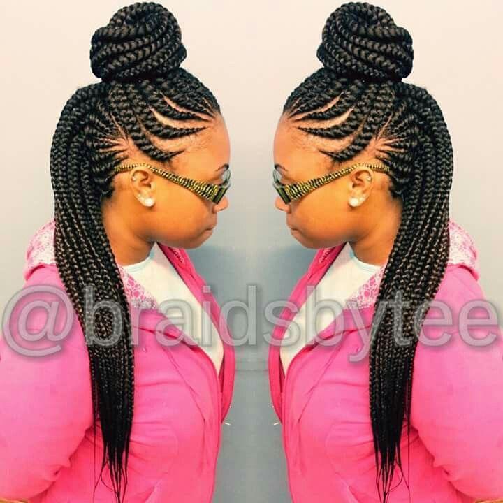 Ghana Braids Hairstyles 70 Best Braids Images On Pinterest  Braid Hair Styles Braids And