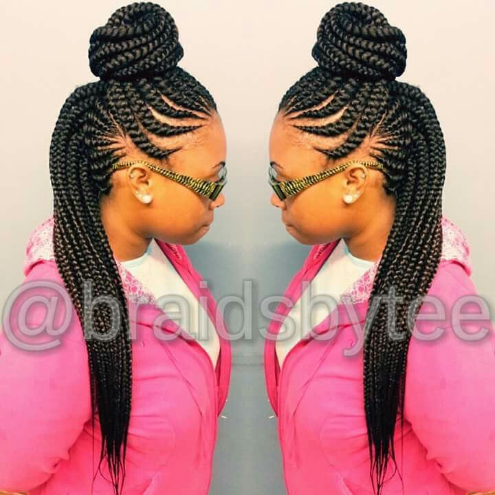Terrific 1000 Ideas About Ghana Braids On Pinterest Box Braids Braids Hairstyles For Women Draintrainus