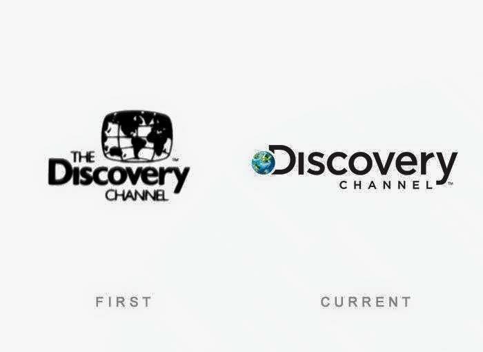 El primer y ultimo #logotipo de #DiscoveryChannel hasta la fecha.