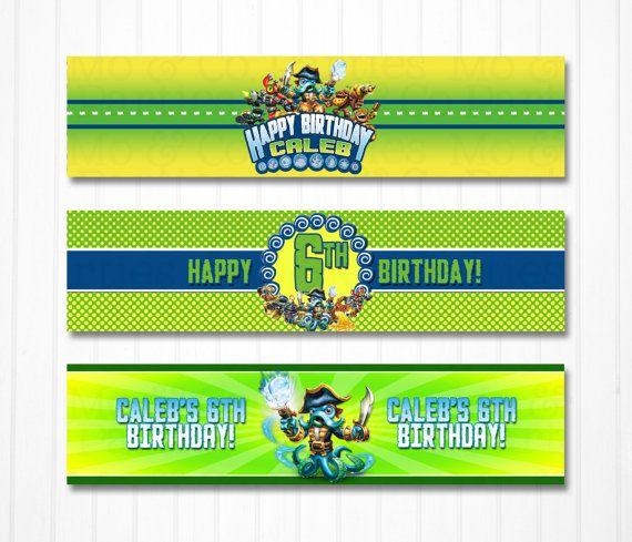 Best Party Skylander Birthday Images On   Birthday