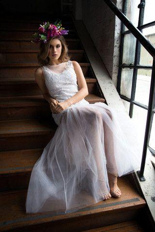 Whimsical Dress - White