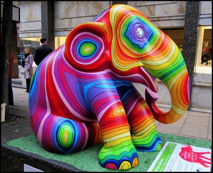 Elephant Parade, London