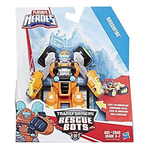 Playskool Heroes Transformers Rescue Bots Brushfir Rescue Bots Transformers Rescue Bots Transformers