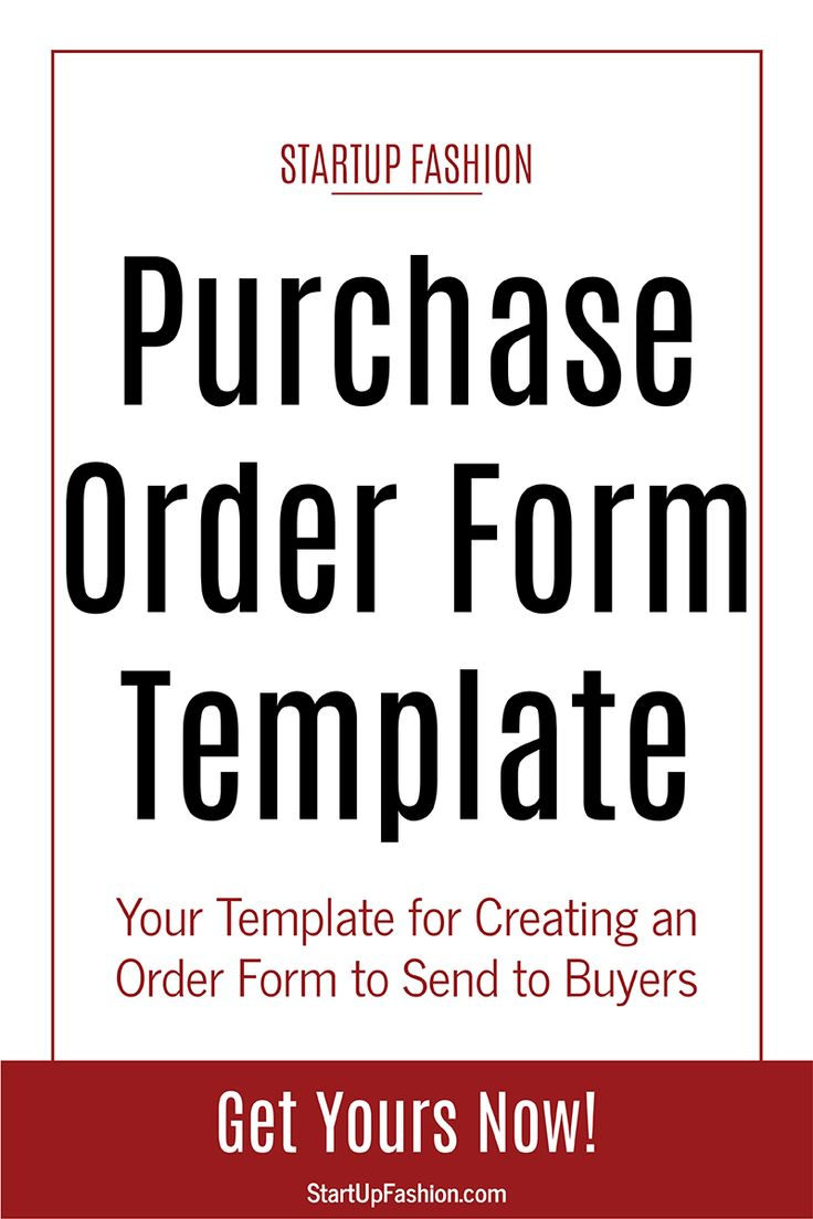 Best Fashion Business Tools Templates Images On Pinterest - Best of wholesale order form template scheme