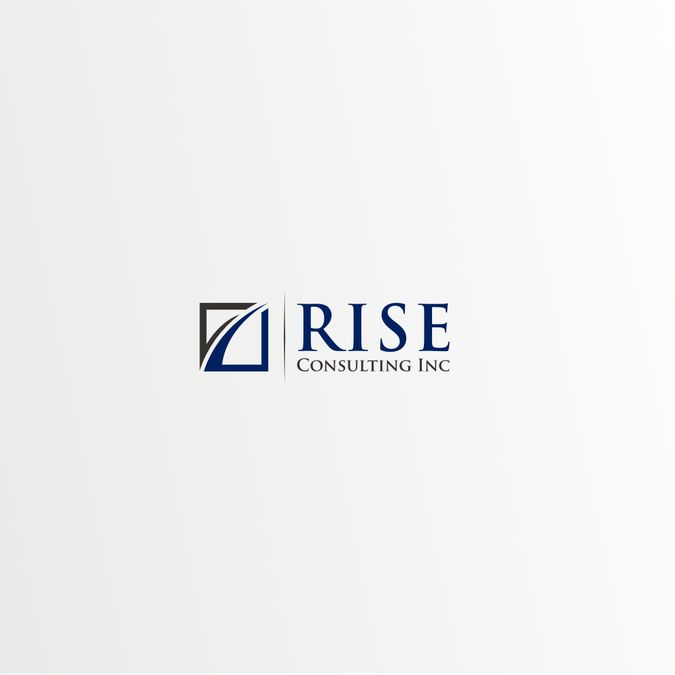 Generic & overused logo designs sold on www.99designs.com - RISE CONSULTING INC.