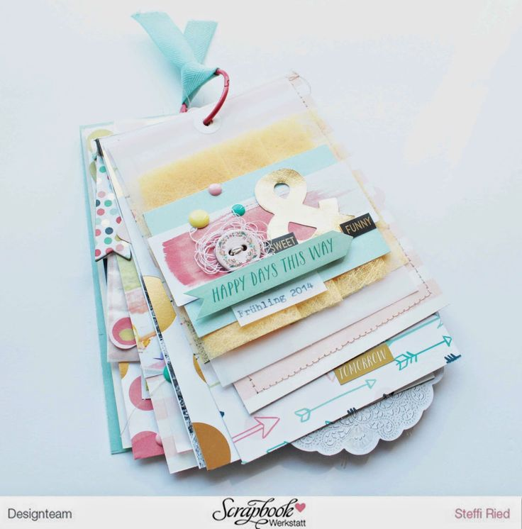 Scrap Sweet Scrap: Minialbum - Unser Frühling 2014