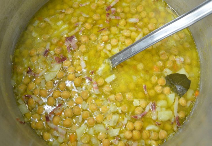 zuppa di ceci e pancetta #ricettedisardegna #cucina #sarda #sardinia #recipe