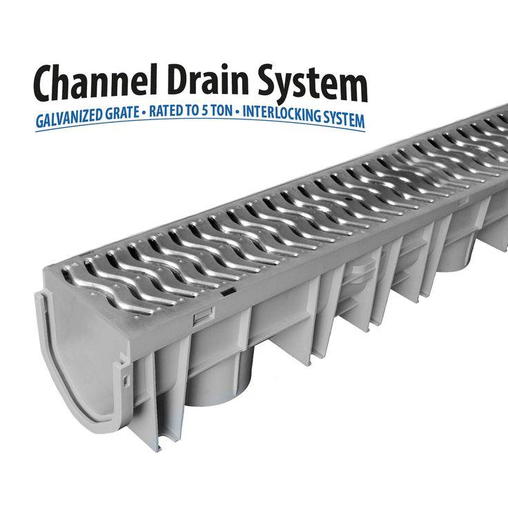43 best drainage images on pinterest driveways drainage for Landscape channel drain