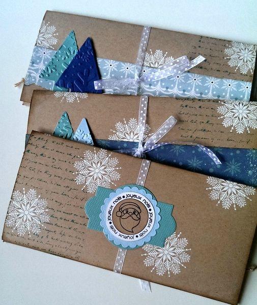 pochettes cadeau Noel - Marianne 38