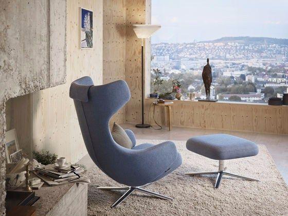 Swivel recliner wingchair GRAND REPOS Repos