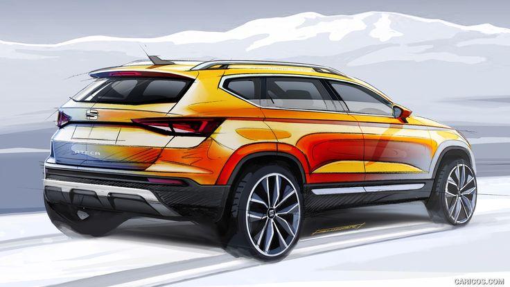 2017 SEAT Ateca design sketch