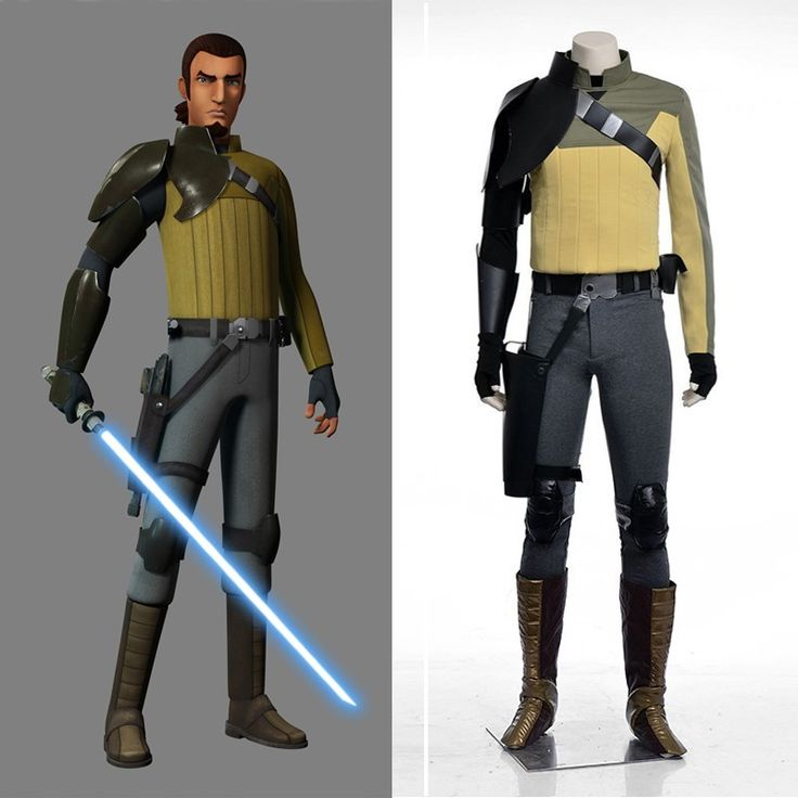 disney anime star wars rebels kanan jarrus cosplay costume suits for halloween and christmas - Clone Wars Halloween Costumes