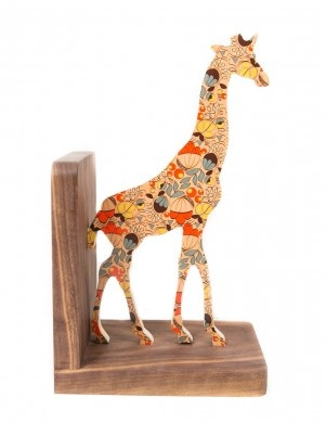 For the giraffe lovers. Wolfum Adelaide Giraffe Bookend #shoppigment #wolfum