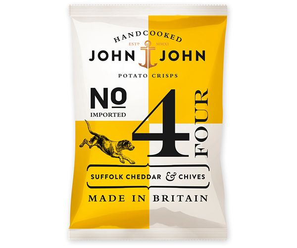 Packaging In Brief: John & John Crisps