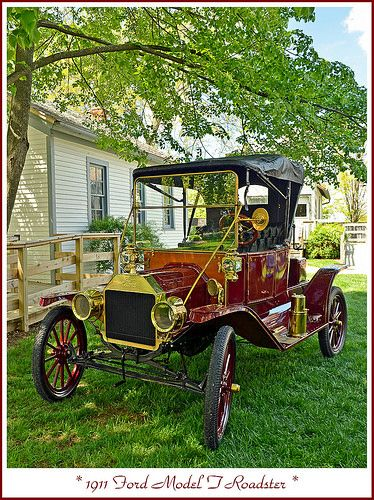 1911 Ford Model T Roadster | Flickr - Photo Sharing!
