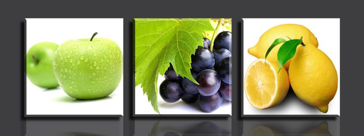 Fuits set https://walldecordeals.com/3-panelsset-fruits-picture-printed-on-canvas-painting-hd-print-painting-artwork-decorative-painting/