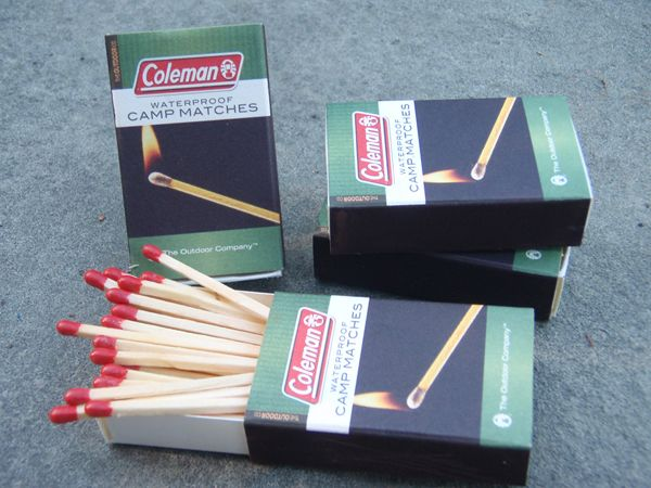 waterproof your own matches. Clear nail polish!Survival Gear