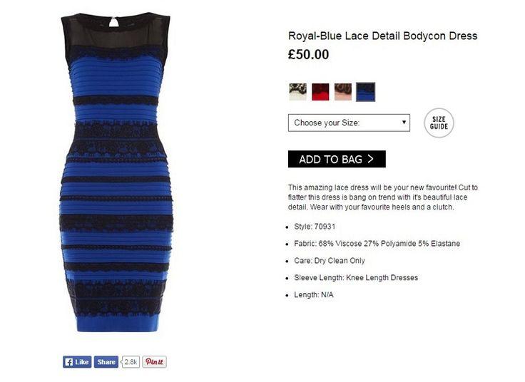 ¿De qué color ves este vestido? ¿Blanco y dorado o negro y azul? | Cuidar de tu belleza es facilisimo.com