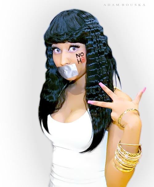 Nicki Minaj. Ok, ok, I know she's bi. Consider her half gay. LOL