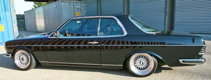 mercedes benz 280ce w123 on bbs rs car tuning. Black Bedroom Furniture Sets. Home Design Ideas