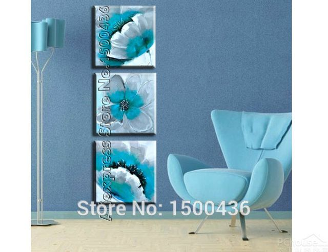 M.aliexpress.com Painting Product Image. Turquoise Bedroom DecorCanvas ...