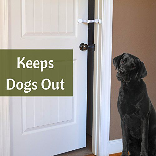 Door Buddy is a Door Latch that will keep your dog (if slightly larger than cat) out of the room with the cat food and litter box while still allowing your cat to have easy access. EASIER ALTERNATIVE --> Stop struggling with complicated, expensive and cumbersome products like pet gates with cat door, safety gates, covered litter boxes, top entry litter boxes, and litter box furniture. EASY TO USE AND INSTALLS IN SECONDS --> Simple lock and unlock door latch provides easy and convenient adult…
