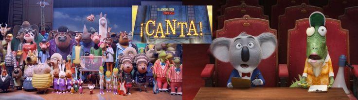 Canta. Cine para niños -Cine infantil estrenos 2016