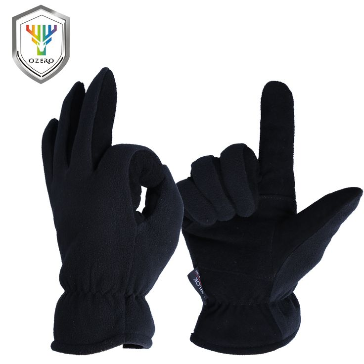 OZERO Winter Warm Gloves Men's Work Driver Windproof Security Protection Wear Safety Working For Men's Woman Gloves 9009