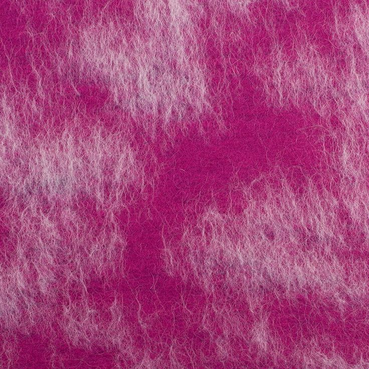 Herno Fuchsia/White Mohair Blended Wool Knit Fabric by the Yard | Mood Fabrics