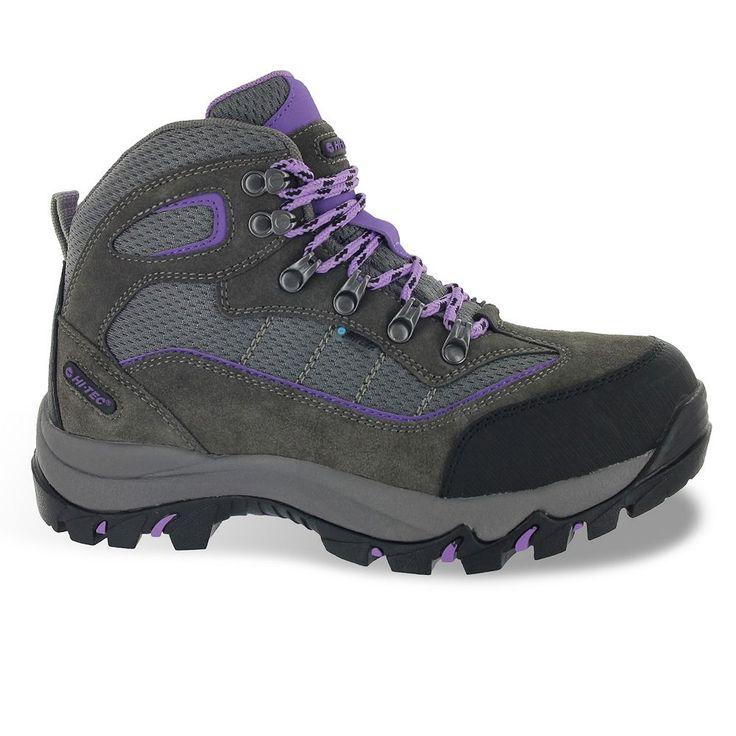 Hi-Tec Skamania Women's Mid-Top Waterproof Hiking Boots, Size: medium (6.5), Grey