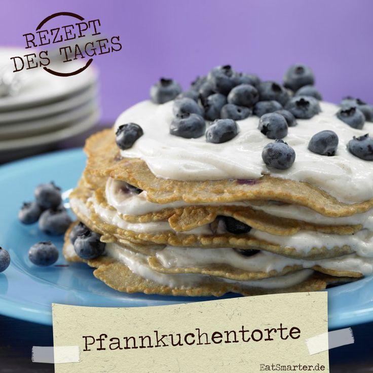 http://eatsmarter.de/rezepte/pfannkuchentorte-blaubeerquark – So kommt Hochstapelei kulinarisch garantiert gut an