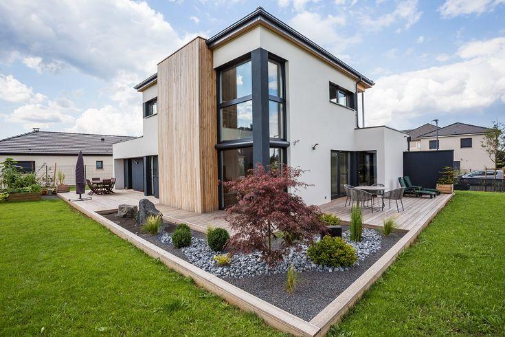 Maison à ossature bois basse consommation par Innov'Habitat - (57) France