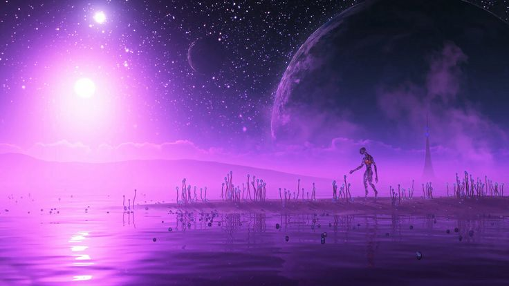 Apparently we've been doing SETI wrong all these years. Need to be looking for purple (that most regal of colours) planets...
