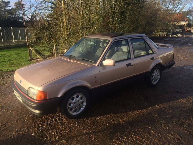 Looking for a Ford Orion 1.6i Ghia 56,000 Miles From New? This one is on eBay.