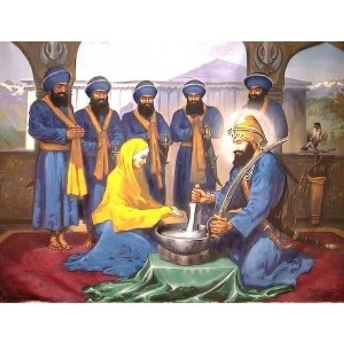 Shri Guru Granth Sahib: Happy Vaisakhi! Today We Celebrate The Birth Of The Khalsa