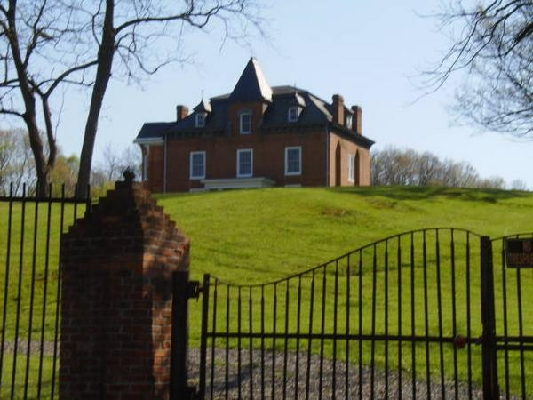 Grahams Forge Mansion..said to be haunted. Located in Wythe County, Virginia