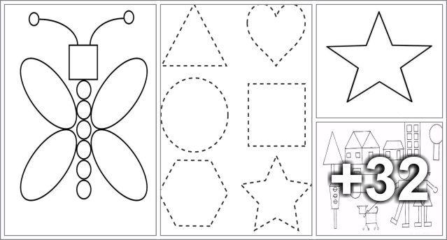 30 Dibujos Para Aprender Las Figuras Geometricas Educacion Preescolar Alumno On Educacion Preescolar Preescolar Figuras Geometricas Animadas