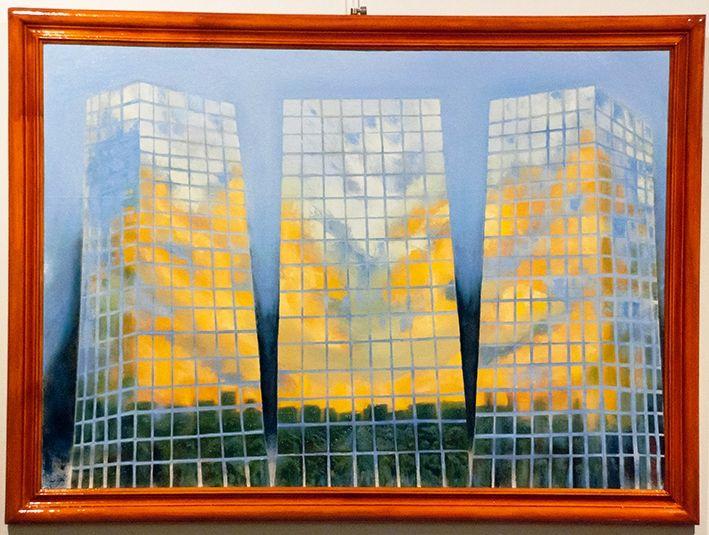 Hasta Mañana 2 - $ 1650.- Óleo 53 x 78 cm Nestor Gabriel Cozzi