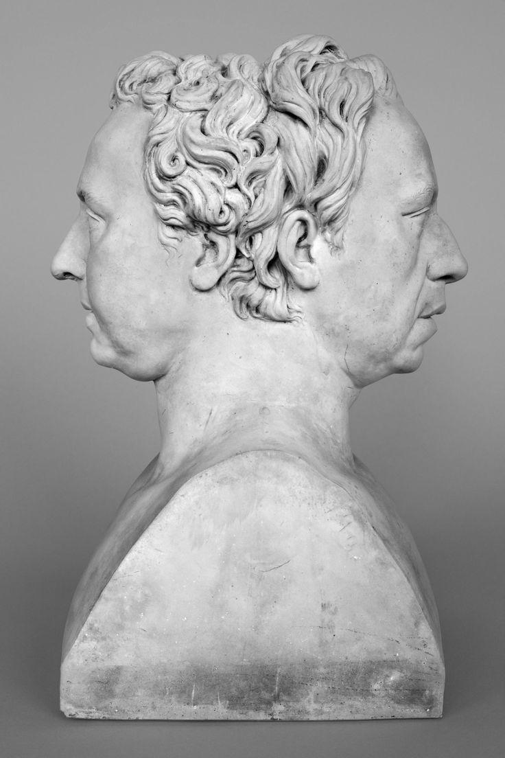 Giovanni Volpato, Erma con i ritratti di Anton Raphael Mengs e José Nicolás de Azara, 1785-1798 - Collezione Federico Zeri