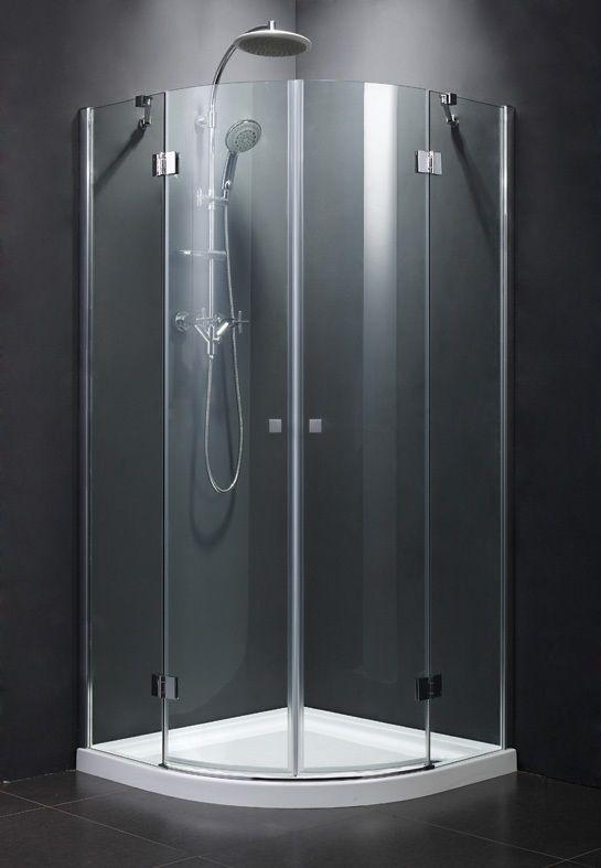 Leziter Trenic Clear íves dupla nyílóajtós zuhanykabin most 26% kedvezménnyel