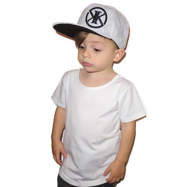 Limited Edition Marble snapback by Kit and Krew kids streetwear