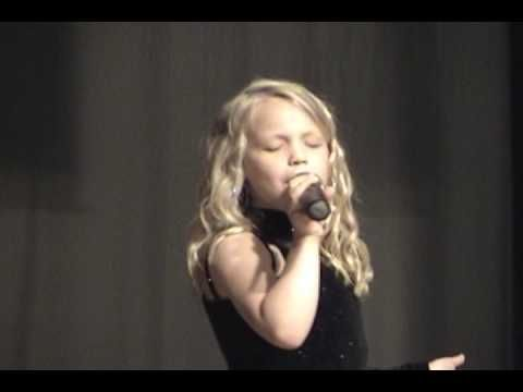 Talented Child Singing-I Told You So-Carrie Underwood/Randy Travis (Cover