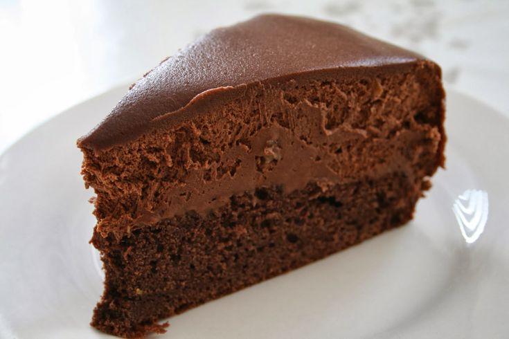 Meyers chokoladebavaroise med appelsin (Recipe in Danish)
