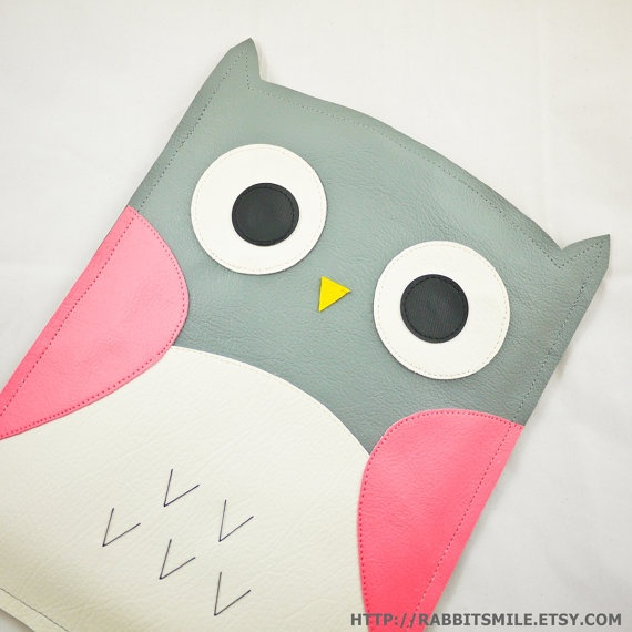 Owl iPad 2 case/ iPad case / iPad 2 cover / iPad by rabbitsmile, $29.00